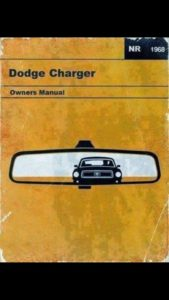 Dodge Charger Manual Cover